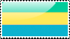 Gabonaise Flag Stamp by xxstamps