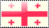 Georgian Flag Stamp by xxstamps