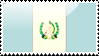 Guatemalan Flag Stamp by xxstamps