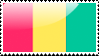Guinean Flag Stamp by xxstamps