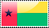 Guinea-Bissauan Flag Stamp by xxstamps