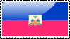 Flag of Haiti stamp by xxstamps