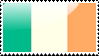Flag of Ireland Stamp by xxstamps