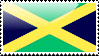 Flag of Jamaica Stamp by xxstamps