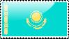 Flag of Kazakhstan Flag by xxstamps