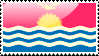 Flag of Kiribati Stamp by xxstamps