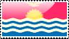 Flag of Kiribati Stamp by xxstamps