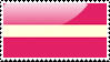 Flag of Latvia Stamp by xxstamps