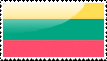 Flag of Lithuania Stamp by xxstamps