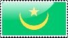 Flag of Mauritania Stamp by xxstamps