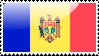 Flag of Moldova Stamp by xxstamps
