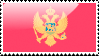 Flag of Montenegro Stamp by xxstamps