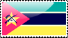 Flag of Mozambique Stamp by xxstamps