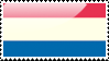 Flag of the Netherlands Stamp by xxstamps