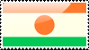 Flag of Niger Stamp by xxstamps