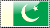Flag of Pakistan Stamp by xxstamps