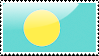 Flag of Palau Stamp by xxstamps