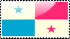 Flag of Panama Stamp by xxstamps