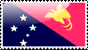 Flag of Papua New Guinea by xxstamps