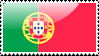 Flag of Portugal Stamp by xxstamps