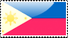 Flag of the Philippines Stamp by xxstamps