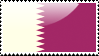 Flag of Qatar Stamp by xxstamps
