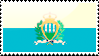 Flag of San Marino Stamp by xxstamps