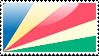 Flag of Seychelles Stamp by xxstamps