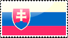 Flag of Slovakia Stamp by xxstamps
