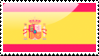 Flag of Spain Stamp by xxstamps