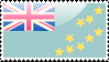 Flag of Tuvalu Stamp by xxstamps