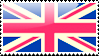 Flag of UK Stamp by xxstamps