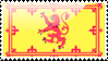 Flag of Royal Scotland Stamp by xxstamps