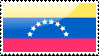 Flag of Venezuela Stamp by xxstamps