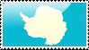 Flag of Antarctica Stamp by xxstamps