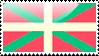 Basque Flag Stamp by xxstamps