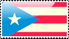 Flag of Puerto Rico Stamp by xxstamps