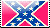 Flag of Confederacy Stamp by xxstamps