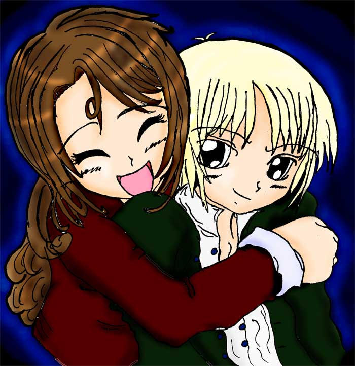 -Hermione and Draco- by mystic-water