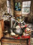 Tom finally kills Jerry