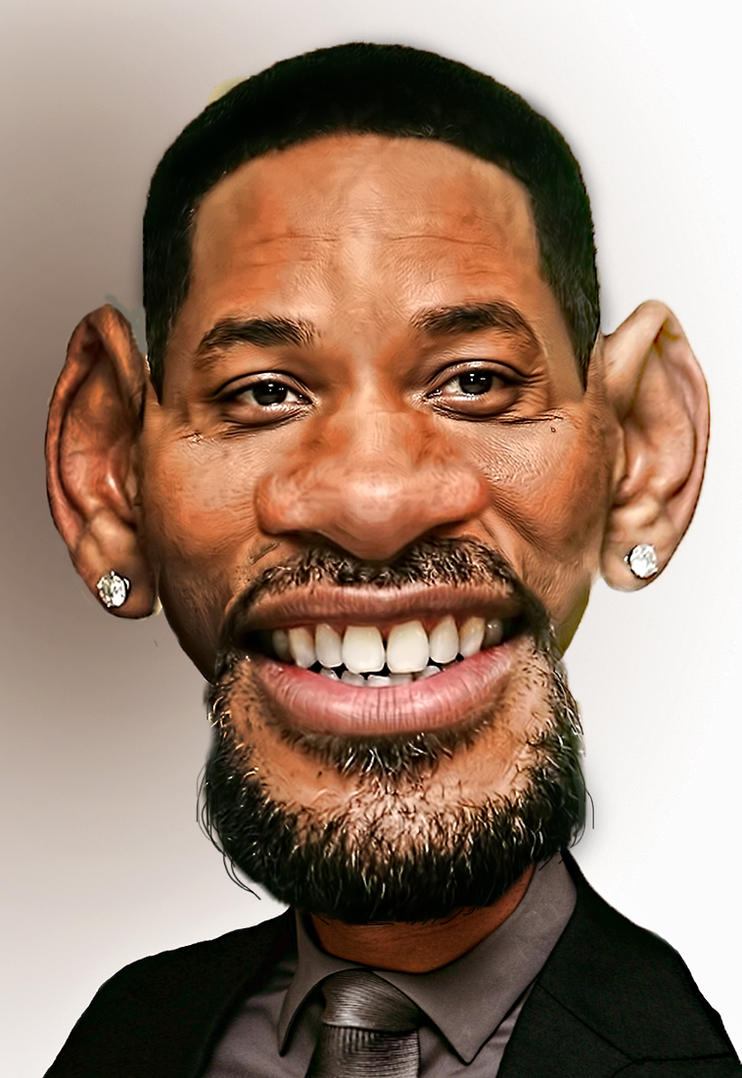 Will Smith Caricature by dilemmaniak