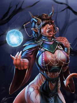 Tiefling Sorceress Nehashea