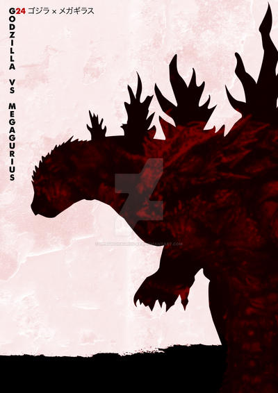 G24 Godzilla Vs Megaguirus by Designosaurus-Rex