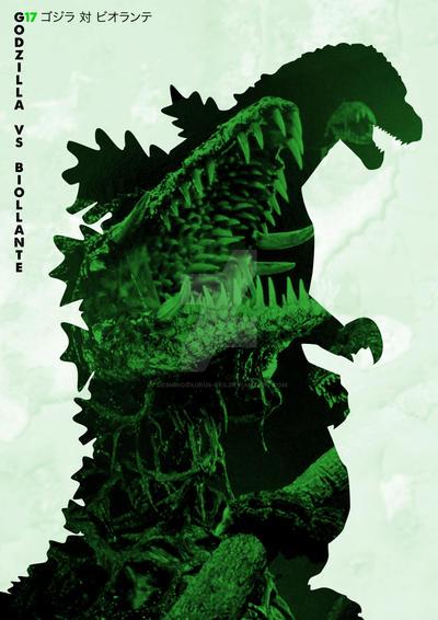 G17 Godzilla Vs Biollante by Designosaurus-Rex
