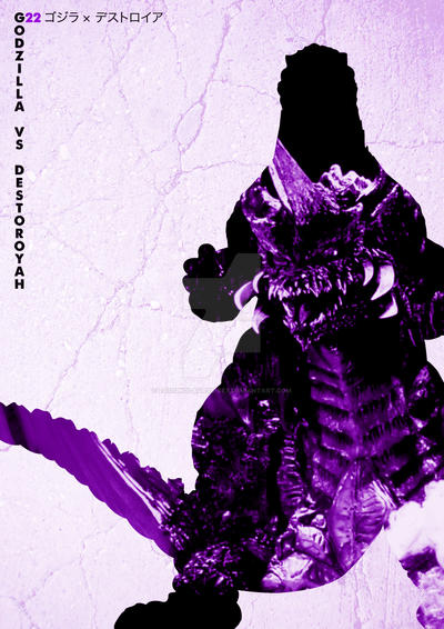 G22 Godzilla Vs Destoroyah by Designosaurus-Rex