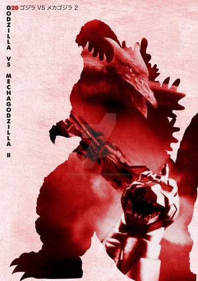 G20 Godzilla Vs Mechagodzilla2 by Designosaurus-Rex