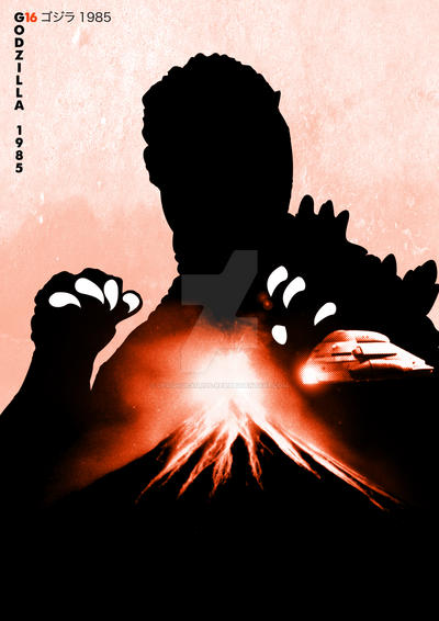 G16 Godzilla 1985 by Designosaurus-Rex