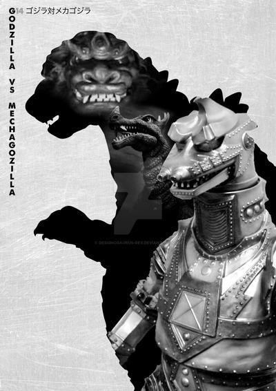 G14 Godzilla vs Mechagodzilla by Designosaurus-Rex