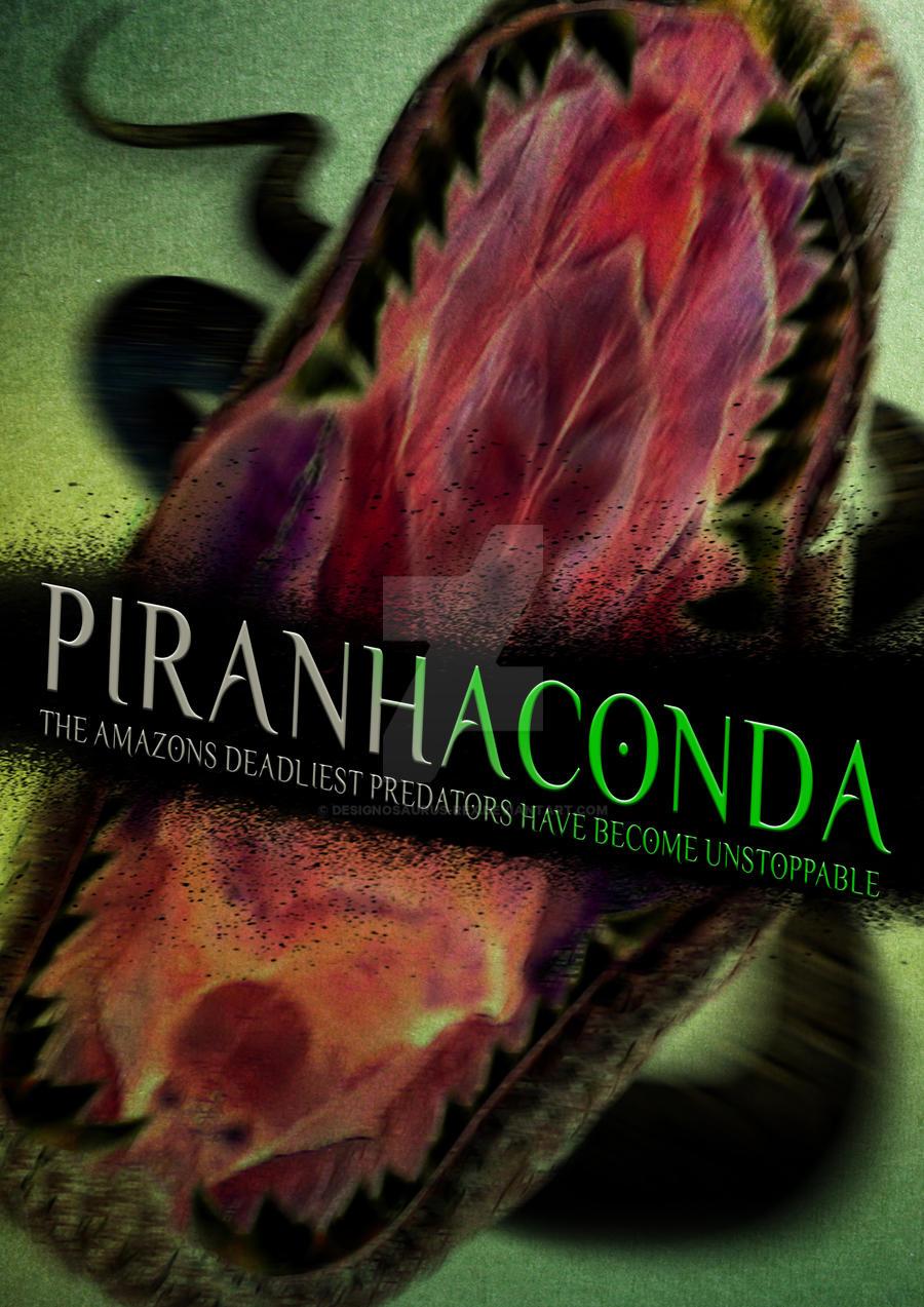 Piranhaconda by Designosaurus-Rex on DeviantArt