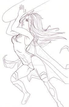 Supergirl rocket